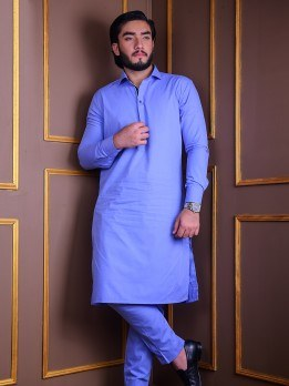 kurta pajama in sky blue