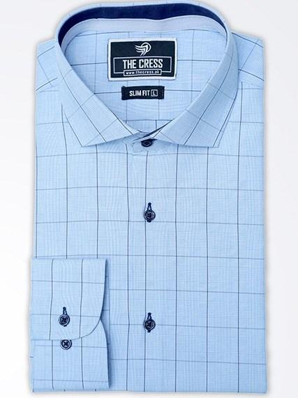 blue-premium-check-shirt
